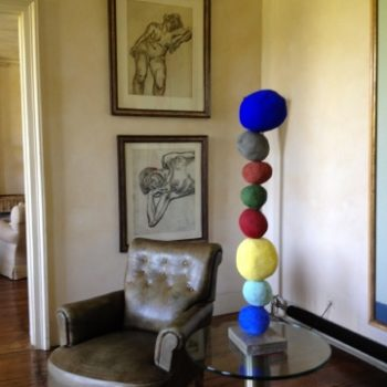 Annie Morris installation, Private Residence